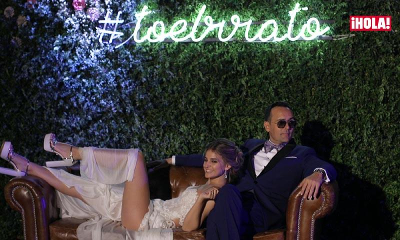 En vídeo: la divertida fiesta de boda de Risto Mejide y Laura Escanes