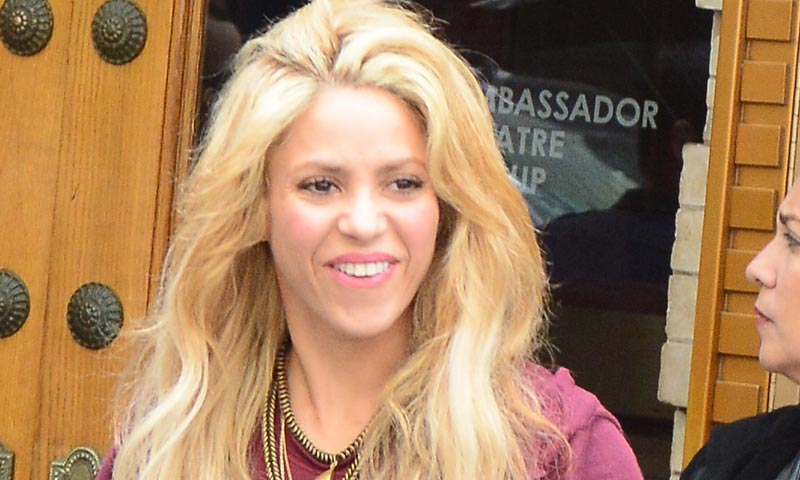 Shakira y Gerard Piqué, de periplo en Boston con sus hijos