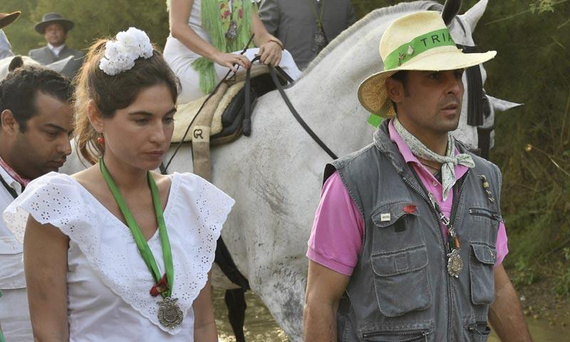 Francisco Rivera y Lourdes Montes, dos peregrinos más hacia la aldea del Rocío
