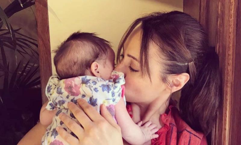 Así están siendo los primeros meses de Natalia Verbeke con su 'gordita'