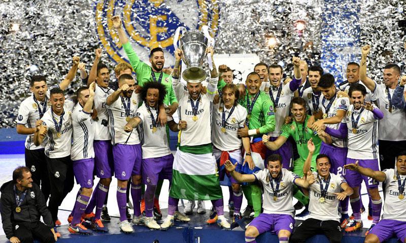 Así fue la loca celebración del Real Madrid por la duodécima Champions