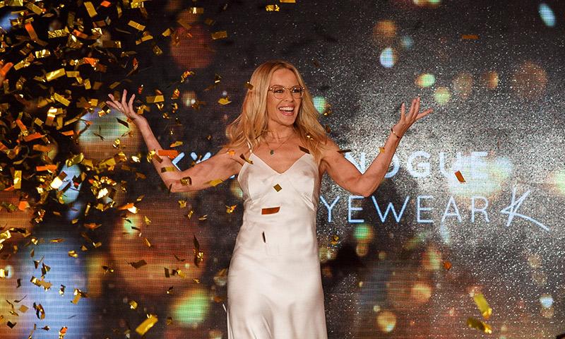 Kylie Minogue, espléndida a los 49