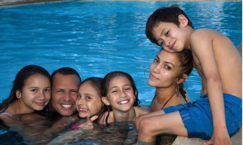 Quién es quién en la nueva y ampliada familia de Jennifer López