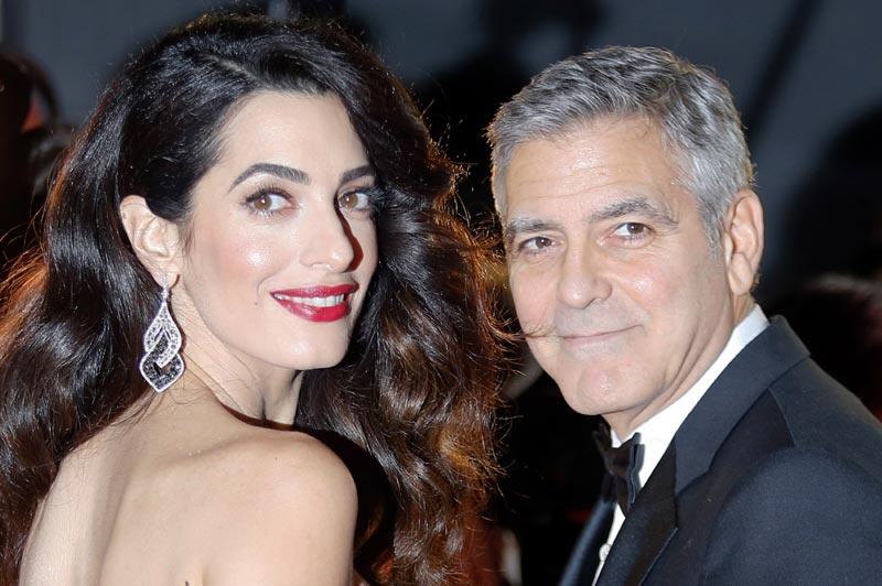El original mensaje con el que George y Amal Clooney han desvelado que iban a ser padres