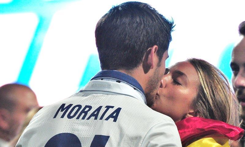 Álvaro Morata y Alice Campello, pura pasión en la cuenta atrás para su boda