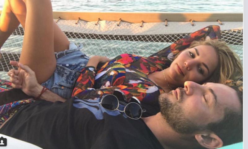 El mágico cumpleaños de David Bisbal: con Rosanna Zanetti y...¡bajo el mar!