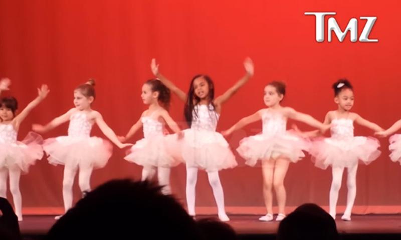 ¡Blue Ivy es una estrella! La hija de Beyoncé, protagonista del baile de ballet de fin de curso