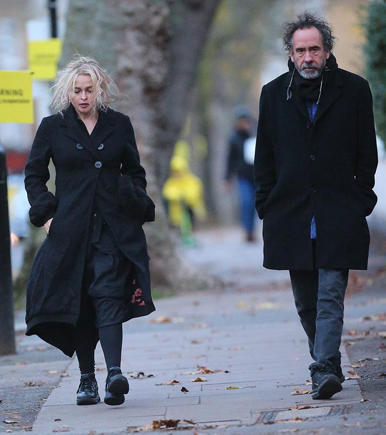 Tim Burton y Helena Bonham Carter, una buena relación a ...