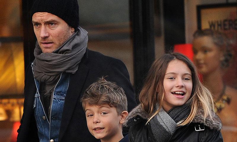 Los hijos de Jude Law, estrellas de la moda