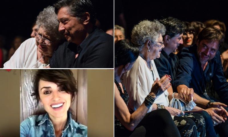 Javier Bardem, Penélope Cruz... El emotivo homenaje de la familia a la matriarca