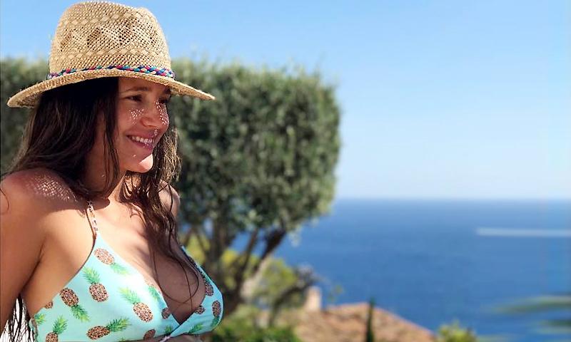 Malena Costa luce embarazo a pocas semanas de dar a luz