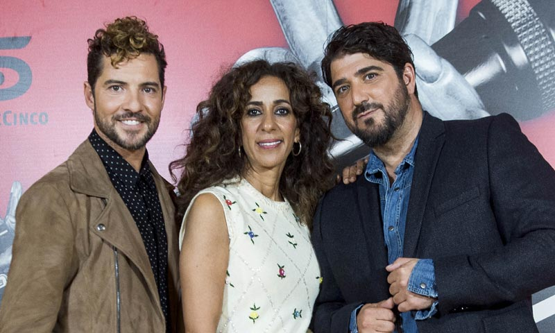 Ni David Bisbal, ni Rosario, ni Alejandro Sanz... ¿quieres saber quiénes son los nuevos 'coaches' de 'La Voz'?