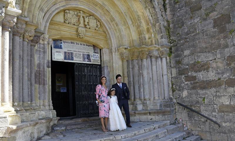 Una iglesia con mucho significado para la familia Bustamante