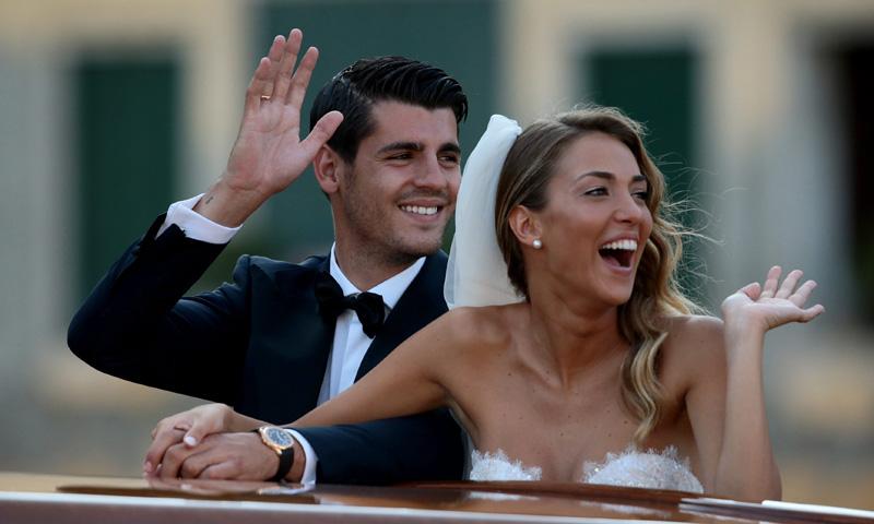 Todos invitados, los bailes más divertidos... los detalles de la boda de Morata y Alice Campello
