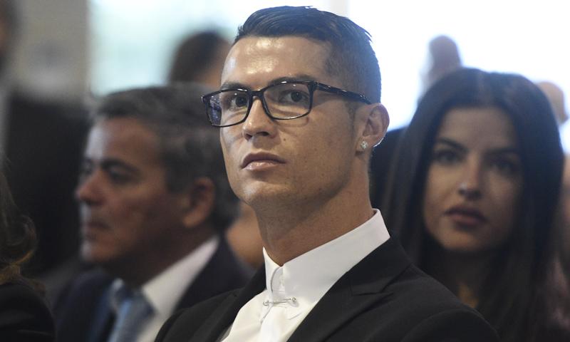 Cristiano Ronaldo, citado a declarar el 31 de julio como investigado por presunto fraude