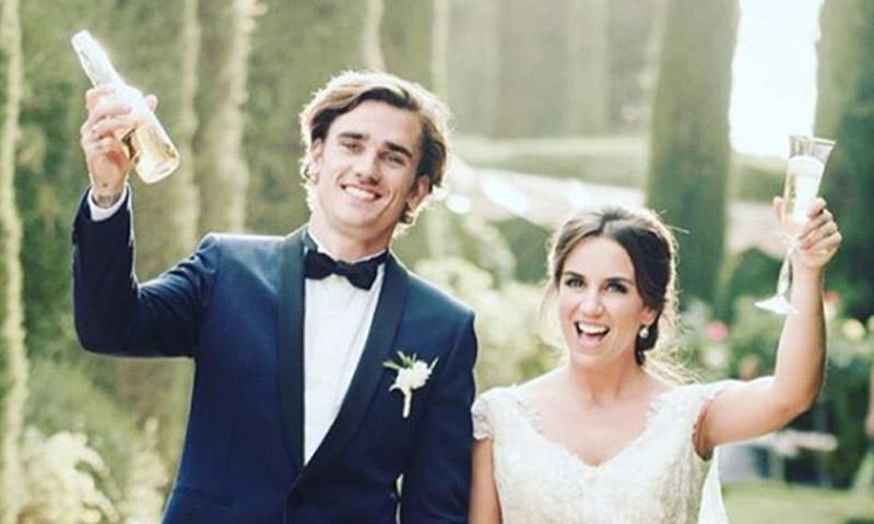 El cambio radical del futbolista Antoine Griezmann tras su boda