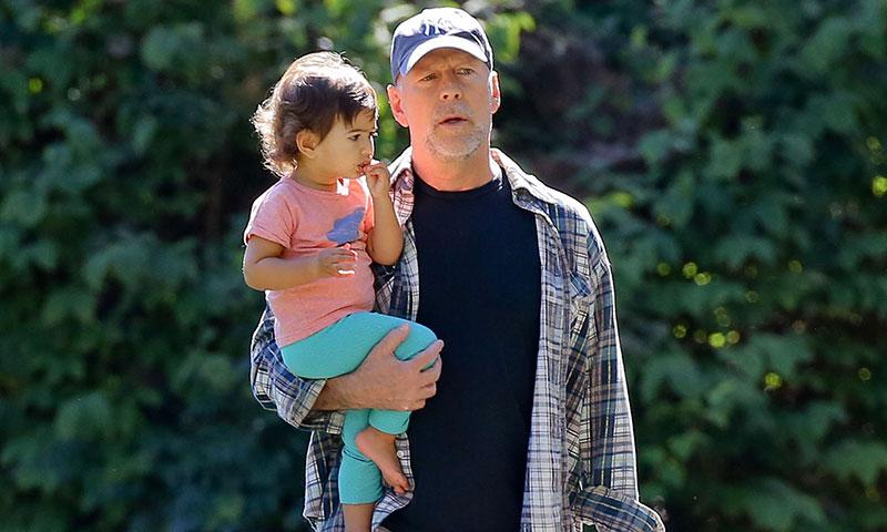 Bruce Willis, un padrazo entregado a sus hijas