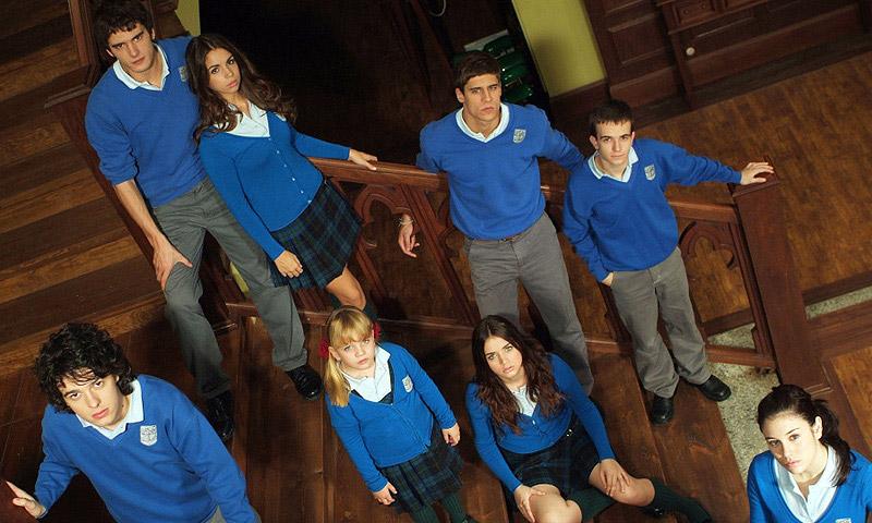 Ana de Armas se reencuentra con sus amigos de 'El Internado'
