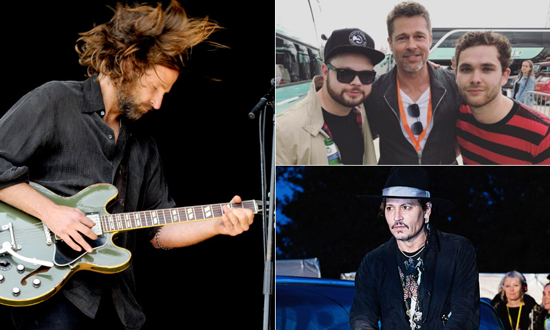 Bradley Cooper, Brad Pitt, Johnny Depp… ¿Qué llevó a estos 'hollywodienses' a Glastonbury?