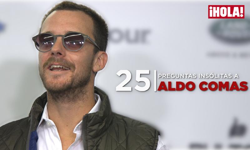 En vídeo: 25 preguntas insólitas a Aldo Comas... y él responde