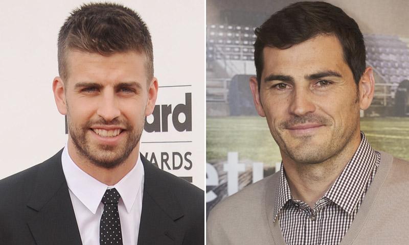 La divertida 'reprimenda' de Gerard Piqué a Iker Casillas por las entradas para un concierto de Shakira
