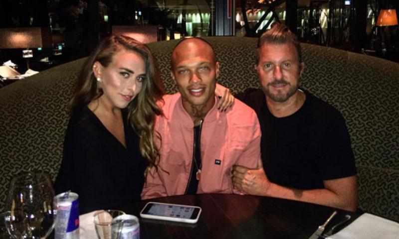 Jeremy Meeks, el preso más 'sexy' del mundo, y Chloe Green, heredera de 'Topshop', ¿nueva pareja?