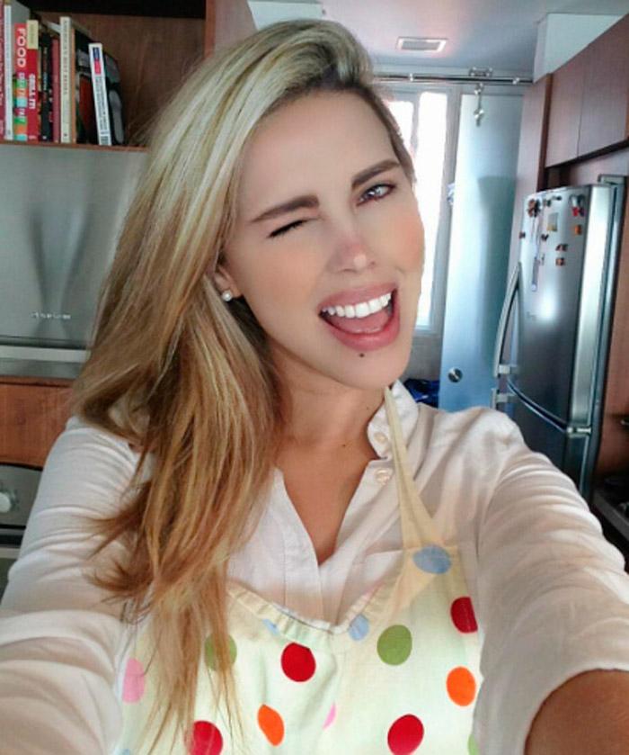 Desiree Ortiz, la atractiva presentadora que dice ser novia de Luis Miguel