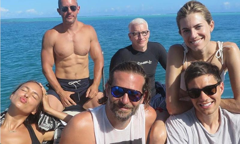 Irina Shayk y Bradley Cooper se relajan en Tahití en su primer verano como padres