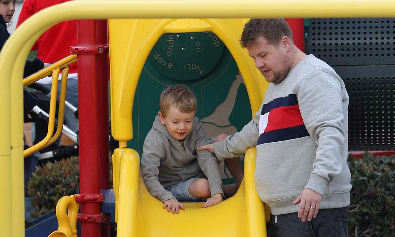 La faceta más desconocida del presentador de 'Carpool Karaoke', James Corden, futuro papá de familia numerosa