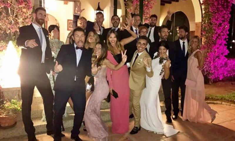Rudy, Helen Lindes y otros rostros conocidos disfrutan de la divertida boda de Canco Rodríguez