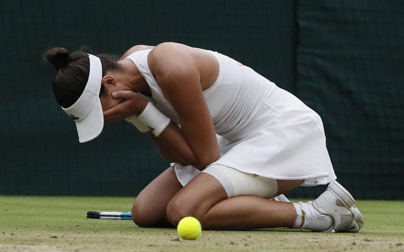 Garbiñe Muguruza hace historia y se convierte en la reina de Wimbledon