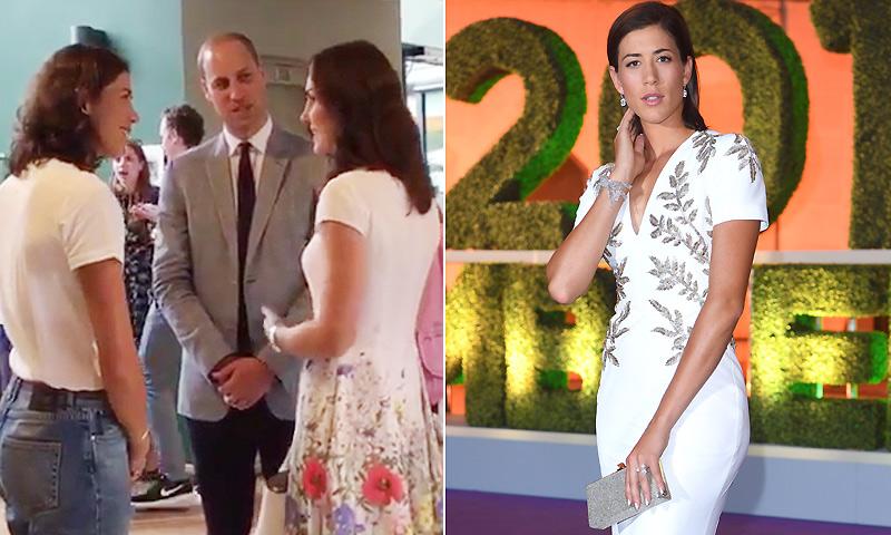 Garbiñe Muguruza, encuentro con los Duques de Cambridge y cena de gala para celebrar su histórico triunfo en Wimbledon