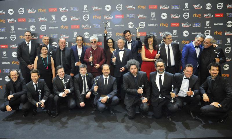 Pedro Almodóvar se lleva el premio al mejor director en los Premios Platino