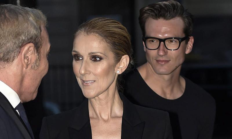 Céline Dion y el español Pepe Muñoz, cena para dos en París