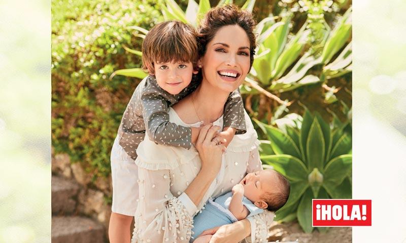 En ¡HOLA!, Eugenia Silva nos presenta a su hijo Jerónimo