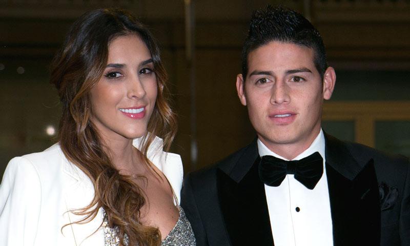 El futbolista James Rodríguez y Daniela Ospina anuncian su separación