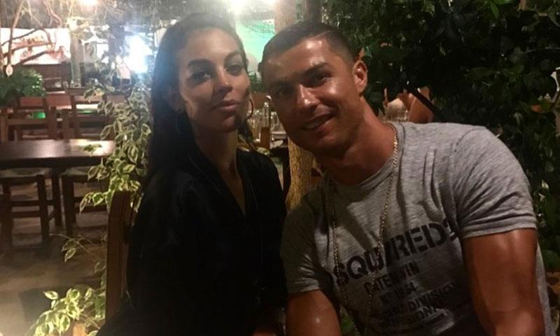 Cristiano Ronaldo y Georgina, cena para dos en Palma de Mallorca