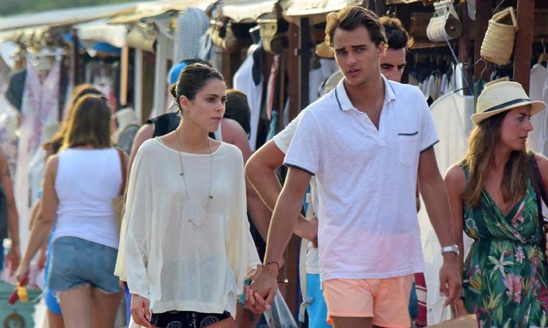 Tini y Pepe Barroso Jr., la imagen más romántica de su escapada en pareja a Ibiza