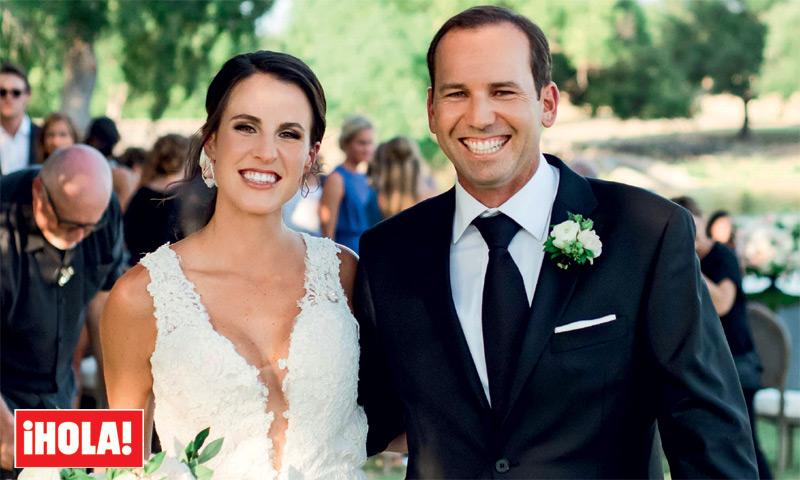 Excepcional reportaje en ¡HOLA! de la romántica boda de Sergio García