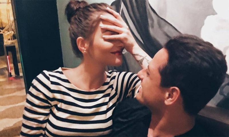 El contundente mensaje con el que 'Chicharito' confirma su amor con Andrea Duro