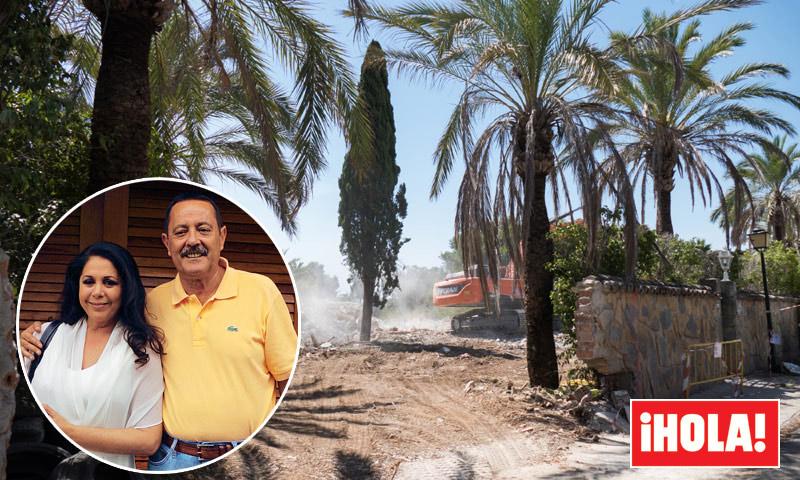 'Mi Gitana', símbolo del amor entre Isabel Pantoja y Julián Muñoz, ha sido demolida