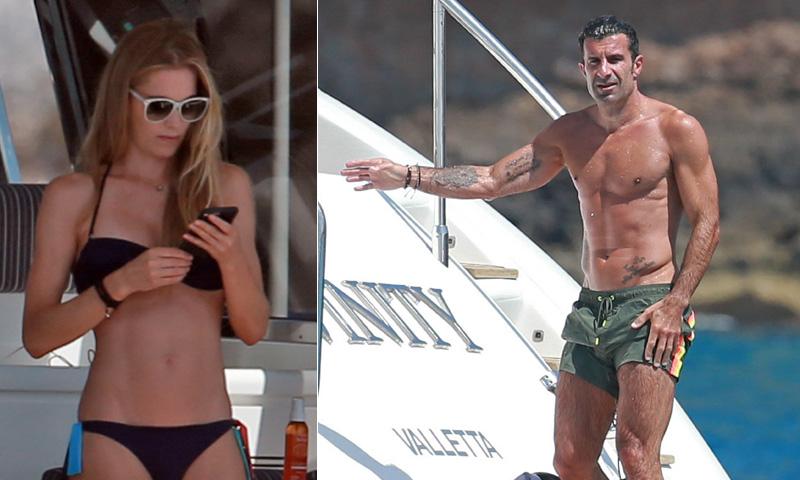 Luis Figo y Helene Svedin, un matrimonio 'cañón' bajo el sol de Ibiza