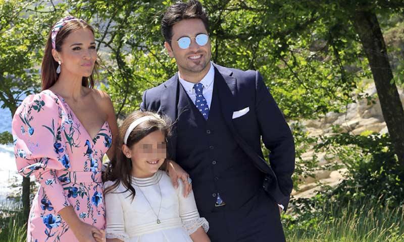 David Bustamante y Paula Echevarría, juntos en el divertido cumple de Daniella