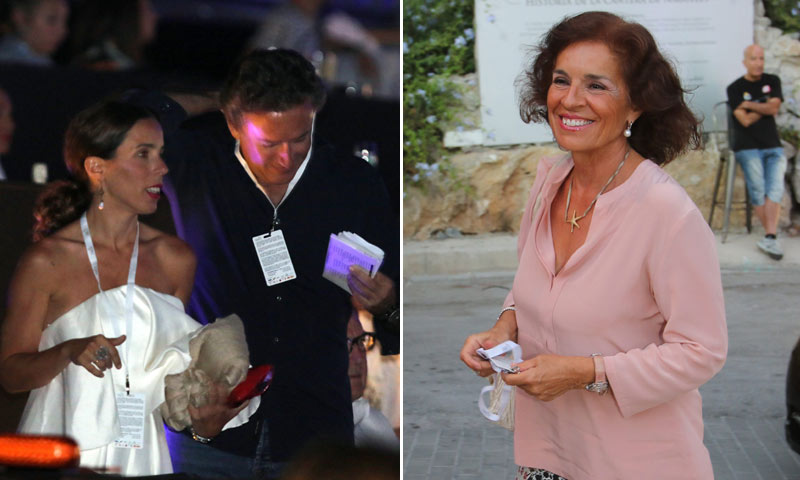 La familia Aznar, casi al completo, en el festival Starlite de Marbella