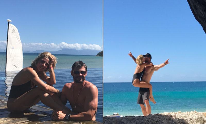 ¡Fin de semana romántico para dos! Así celebró Chris Hemsworth su cumpleaños junto a Elsa Pataky
