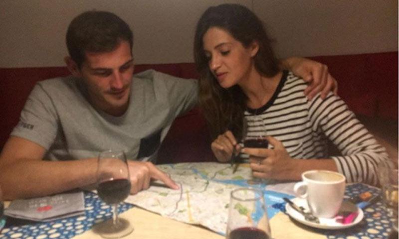 Sara Carbonero e Iker Casillas, improvisados guías turísticos de Oporto
