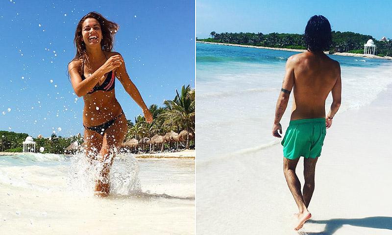 ¿Con quién se ha ido Lara Álvarez de vacaciones a la Riviera Maya?