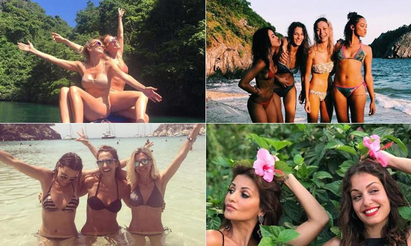 Mónica Cruz, Kira Miró, Macarena García... Las vacaciones, ¡mejor con amigas!