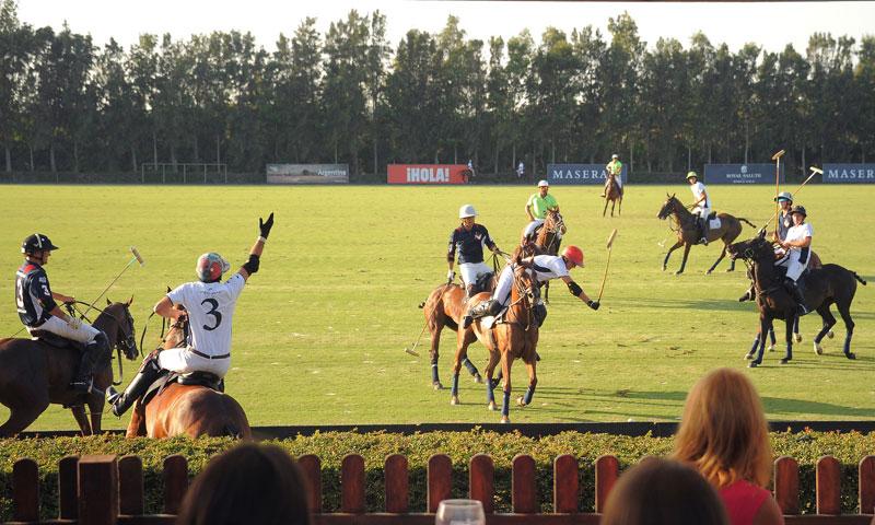 El Rey Juan Carlos, invitado de excepción para la clausura del Torneo Internacional de Polo