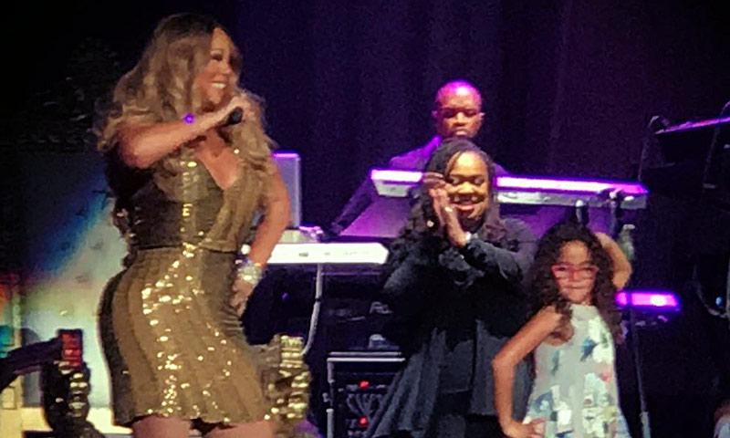 El vídeo más emotivo de Mariah Carey cantando con su hija Monroe